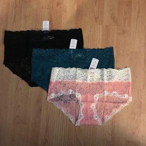 NWT Soma 3 Panties Large Final Price